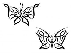 butterfly tattoos for women | Butterflies in the Celtic Culture