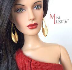 """16"""" Doll Jewelry - Earrings - Tonner Tyler, Sydney, Sybarite"""