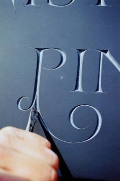 1000 Images About Letters In Stone Amp Wood On Pinterest