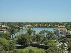 Views of the mansions in Park Shore from Le Ceil Tower condos | Park Shore | Naples, Florida