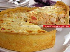 Receita de Torta cremosa de palmito | Guia da Cozinha