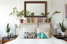 Bedroom at Leaf and June #interiordesign #bedroom
