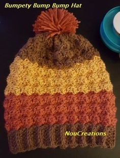 Free crochet pattern: Bumpety Bump Bump Hat by Nou Creations
