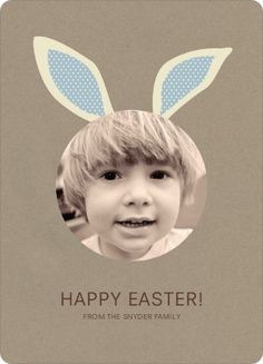 bunny ears easter card | paper culture