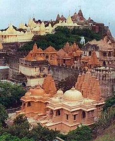 Palitana, India. Palitana is a city in Bhavnagar district, Gujarat, India. It is located 50 km southwest of Bhavnagar city and is a major pilgrimage centre for Jains.