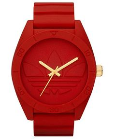 For red-hot style: ADIDAS #watch #red #mens BUY NOW!