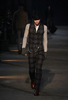 Alexander McQueen, F/W Menswear 2009.
