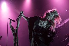 The walls of Thalia Hall rattled and hummed Friday night as Behemoth and Myrkur took the stage. Danish metal goddess, Myrkur, quickly won the favor of Behemoth fans with her unique sound.