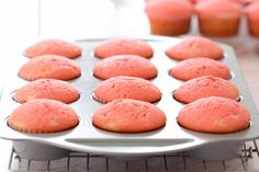 Yum! These tasty cupcakes are inspired by tart-sweet pink lemonade. See the full post on Delish Dish: http://www.bhg.com/blogs/delish-dish/2013/05/09/mothers-day-pink-lemonade-cupcakes/?socsrc=bhgpin051413pinklemonadecupcakes