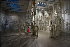 Sculpture Clouded In Twine From Chiharu Shiota « Beautiful/Decay Artist & Design