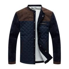 Patchwork Guys' Jacket #MensFashionSwag