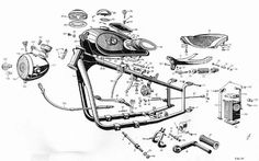 Fallschirmjäger.net - BMW R-71 Technical Drawings