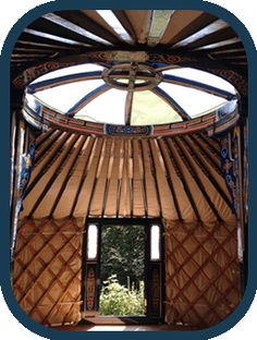 Inside the yurt at Puddleduck Valley - We wil be putting the yurt up this weekend if the weather holds.