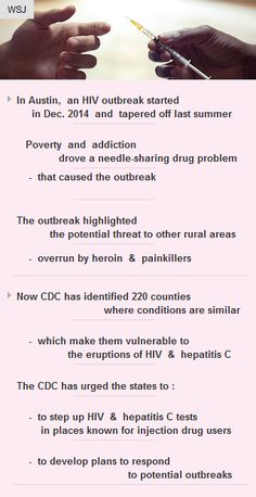 #CDC identifies 220 countries vulnerable to #HIV, #HepatitisC outbreaks #AIDS #healthcare  http://arzillion.com/S/pXlKNA