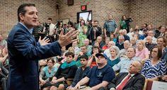 Ted Cruz, singing to the choir