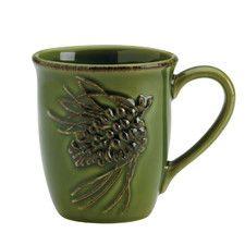 Jewel Tone Boulder Mugs Set of 4 Ceramics