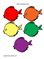 You Can Use These Printables With Goldfish Snack Fish Activities Color