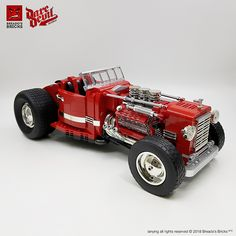 Red-hot red Hot Rod