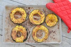 Autumn Spiced Acorn Squash