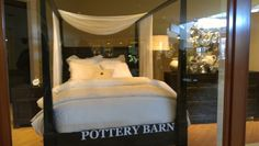 Pretty bed at pottery barn