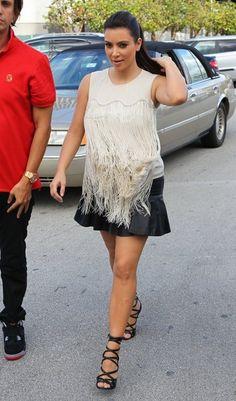 Kim Kardashian Loose Blouse