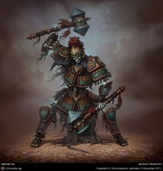 25 Beautiful Russian Concept Art works and Game Character Designs