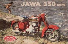 Koupím Jawa ČZ - i-Veteran. Vintage Cycles, Vintage Bikes, Retro Vintage, Vintage Motorcycles, Cars And Motorcycles, Jawa 350, Old Cycle, Motorcycle Posters, Classic Bikes