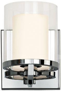 "Sonneman Votivo 5 1/2"" High Polished Nickel Sconce - #3T742 | LampsPlus.com"
