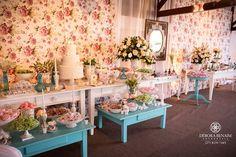 casamento rosa e azul turquesa - Pesquisa Google