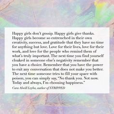 """1,604 Likes, 53 Comments - Cara Alwill Leyba ⚡️ (@thechampagnediet) on Instagram: """"Be a happy girl ⭐️ excerpt is from my book STRIPPED: A Collection of Inspired Writings for the…"""""""