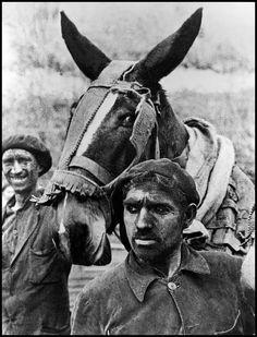 David Seymour. Spain 1936 Asturia