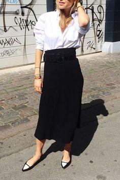 1 White Shirt, 9 Outfit Ideas via @PureWow