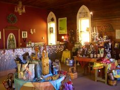 Stableridge Vineyards & Winery on Route 66 in Stroud has an adorable tasting room and gift shop.