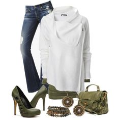 """""""Cozy Casual Date wear"""" by amabiledesigns on Polyvore"""