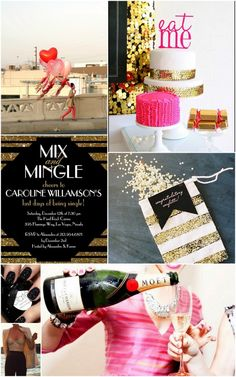 Mix & Mingle Bachelorette Party Inspiration Board