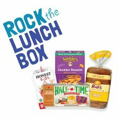#Rockthelunchbox, awesome kids deserve awesome lunches.
