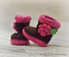 Hey, I found this really awesome Etsy listing at http://www.etsy.com/listing/161214339/crochet-baby-boots-crochet-baby-booties