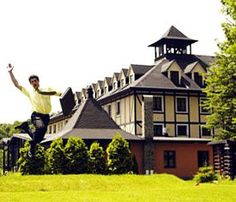 Kremnica, Golfer is close to Kremnica Castle.