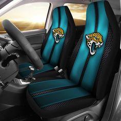 Incredible Line Pattern Jacksonville Jaguars Logo Car Seat Covers – Best Funny Store
