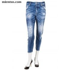 DSQUARED2 Jeans Kenny Twist Pink Painter