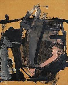 Franz Kline - Rose Gray (1958) Oil on panel