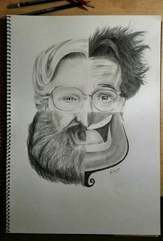 A tribute to a man who helped me grow my garden of youth and laughter. .. I didn't  draw it, but God bless the soul who did