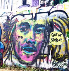 Bob Marley by ER. in Austin, Texas (LP)