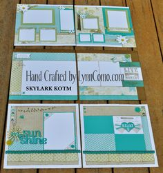 SKYLARK LAYOUTS BY LYNN COMO