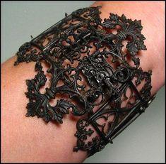 `.Antique Berlin Iron Bracelet.