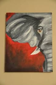 Image result for acrylic painting for beginners elephant