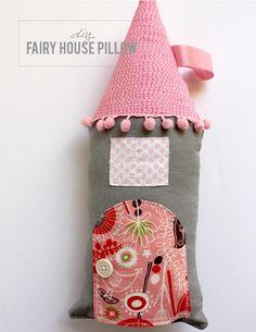 DIY Pillow DIY Fairy House Pillow DIY Pillow