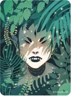 Fantastical Illustrations by ElliseEngel