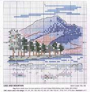 Schema punto croce Miniature 03