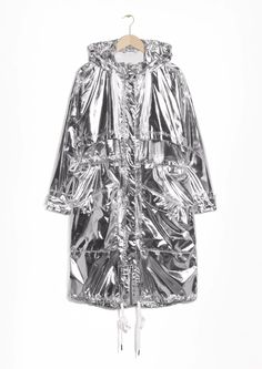 & Other Stories   Silver Parka